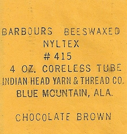 Barbours Beeswaxed Nyltex