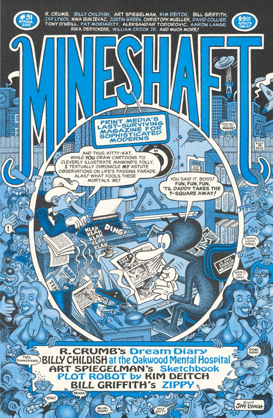 Mineshaft cover by Jay Lynch