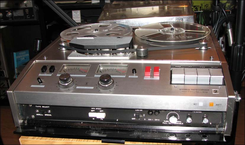 Sony770 tape deck used by Bear