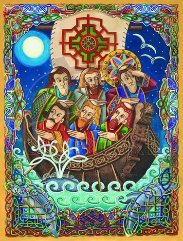 St  Brendan the Navigator by CelticArt